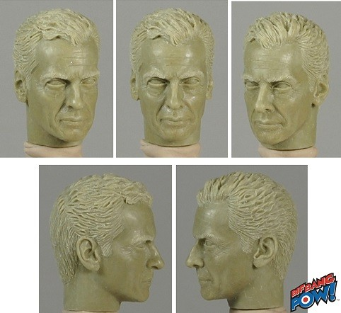 Peter Capaldi as the Doctor - figure head sculpt
