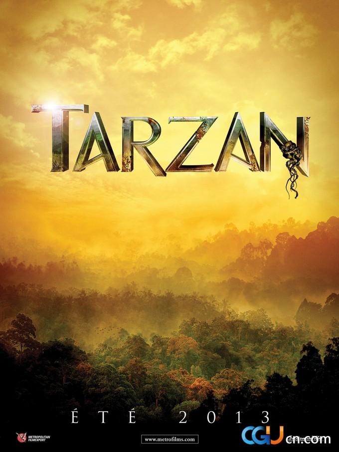 TARZAN 2013 teaser poster