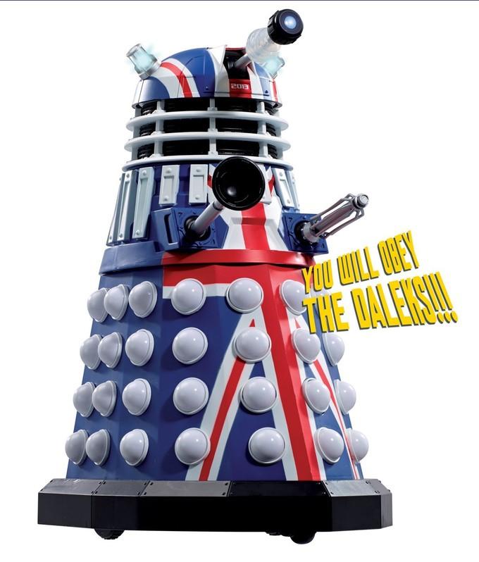 DOCTOR WHO 50th Anniversary Dalek