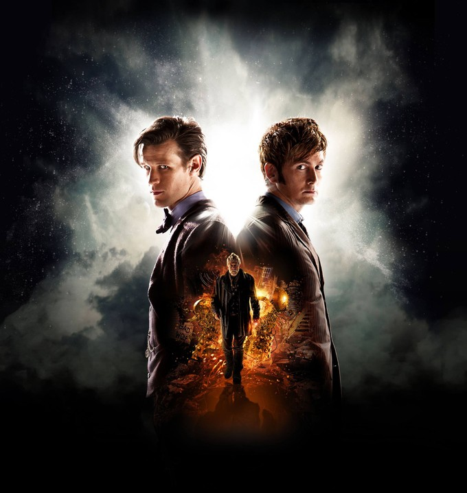 DOCTOR WHO:  The Day of the Doctor promo art