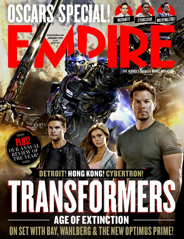 Empire Optimus/AGE OF EXTINCTION cover