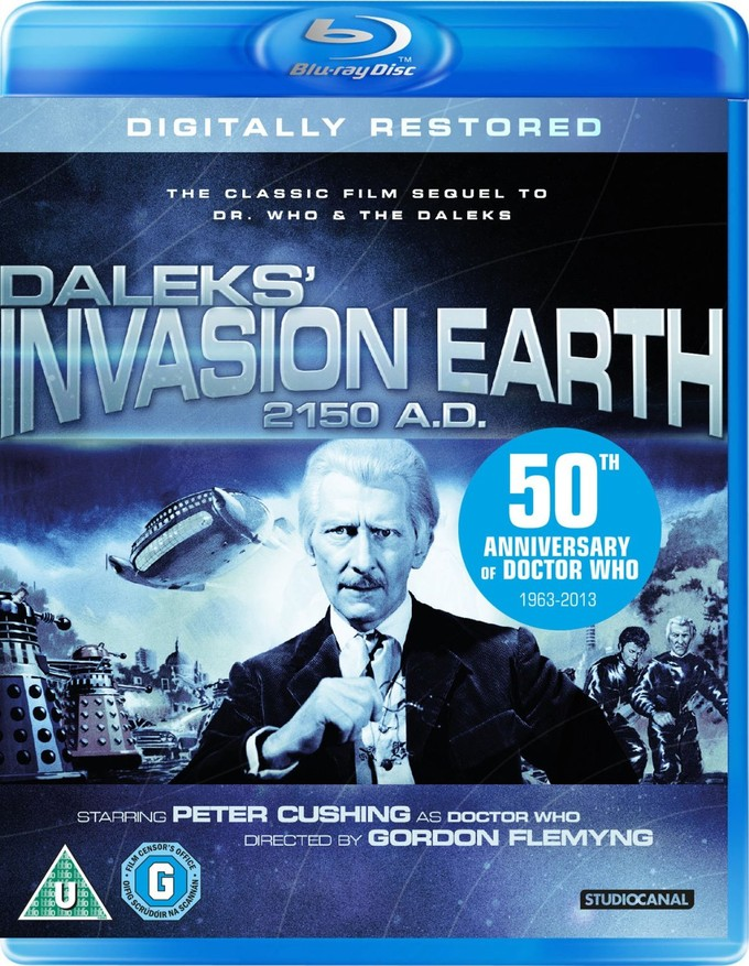 DALEKS' INVASION EARTH 2150 A.D. Blu-ray cover