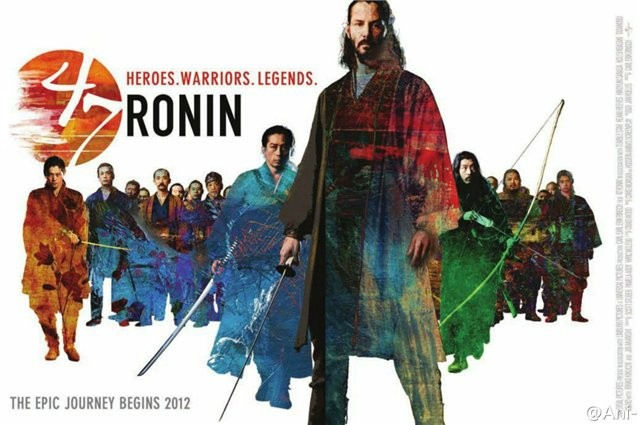 47 RONIN developmental promo art