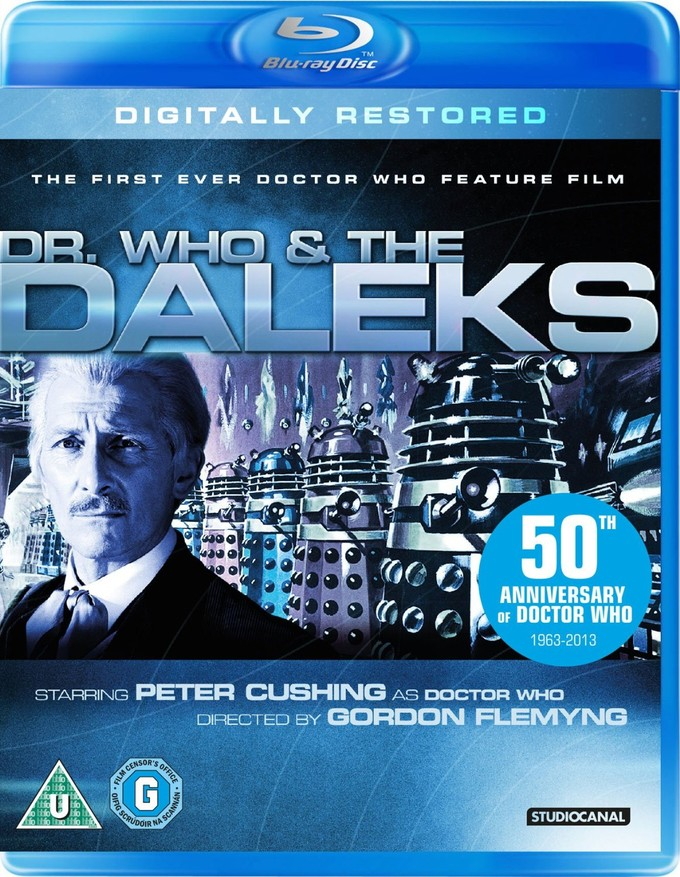 DR. WHO & THE DALEKS Blu-ray cover