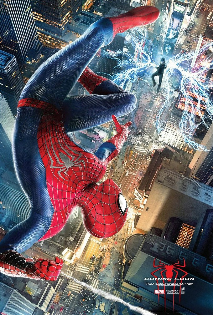 AMAZING SPIDER-MAN 2 international poster