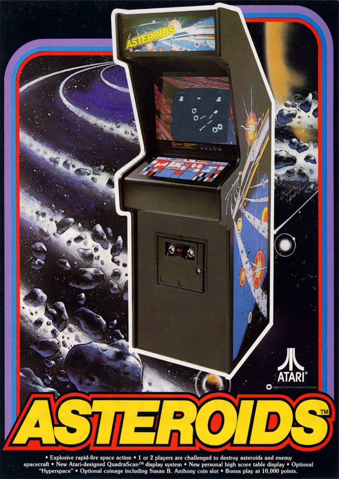 1979 ASTEROIDS game