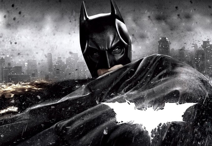 THE DARK KNIGHT RISES promo art