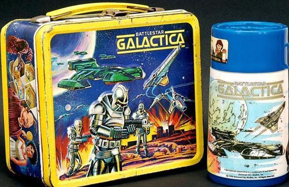 BATTLESTAR GALACTICA (70s) Lunchbox