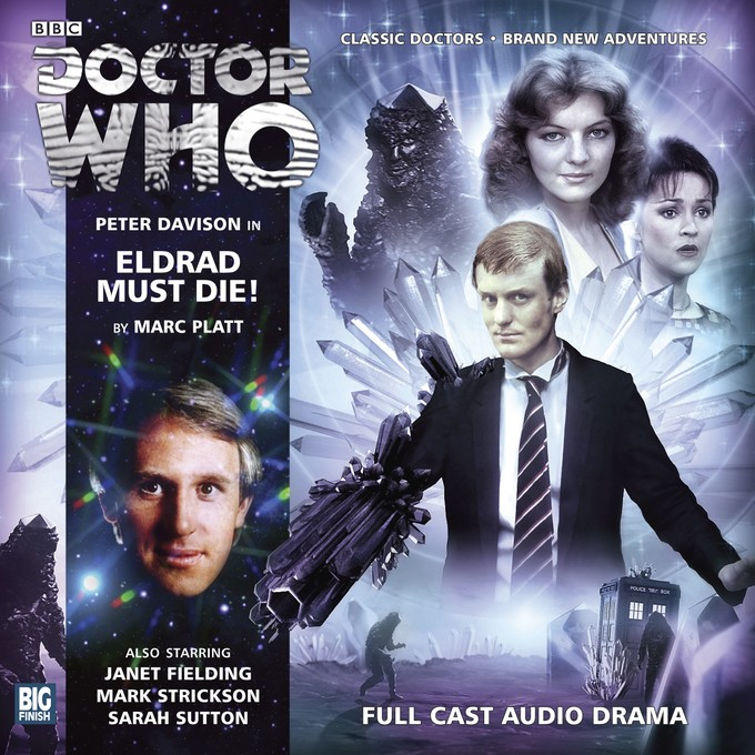 DOCTOR WHO - Eldrad Must Die Big Finish Audio Cover