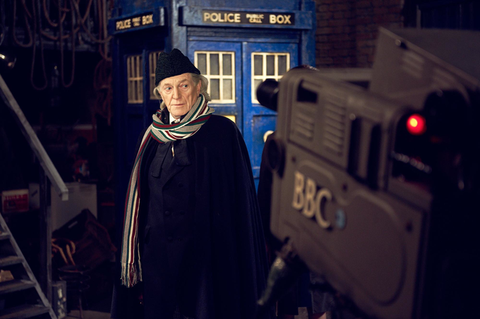 AN ADVENTURE IN SPACE AND TIME: David Bradley as William Hartnell/The First Doctor