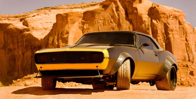 New Bumblebee - car mode - TRANSFORMERS 4