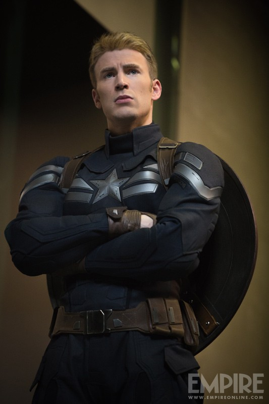 CAPTAIN AMERICA: THE WINTER SOLDIER New Costume