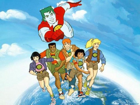 CAPTAIN PLANET (1990s cartoon)
