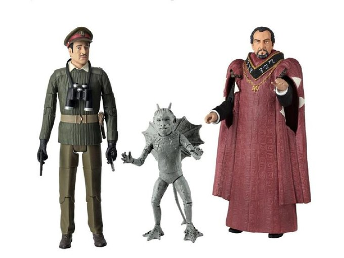 DOCTOR WHO - 'The Daemons' figure set