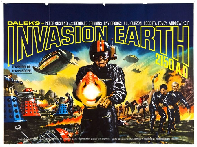 DALEKS: INVASION EARTH 2150 A.D. poster