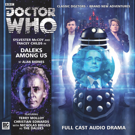 DOCTOR WHO: Daleks Among Us Big Finish Audio CD cover