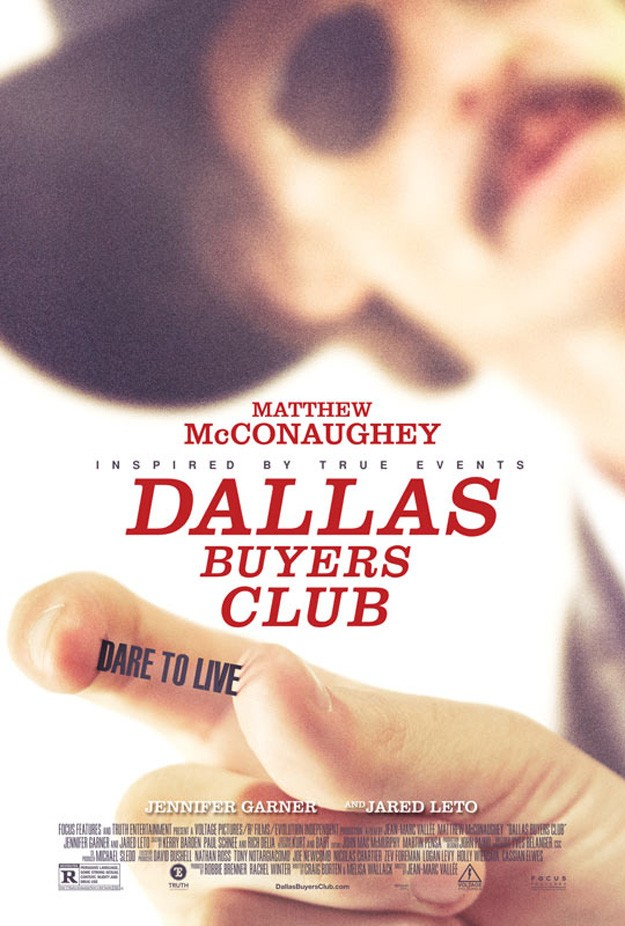 DALLAS BUYERS CLUB posters