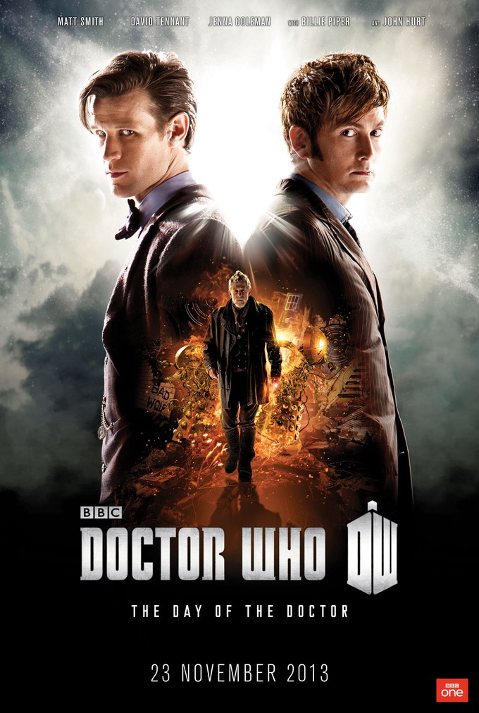 DOCTOR WHO: The Day of the Doctor promo poster