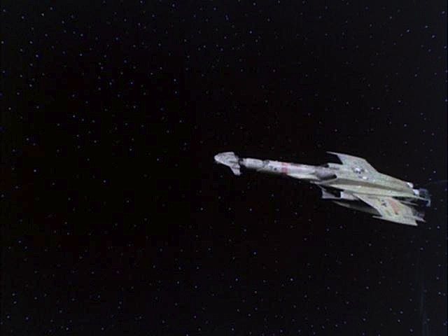 BATTLESTAR GALACTICA (1978) - Eastern Alliance Destroyer