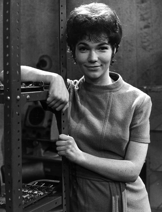 Tina Packer as Anne Travers in DOCTOR WHO: The Web of Fear