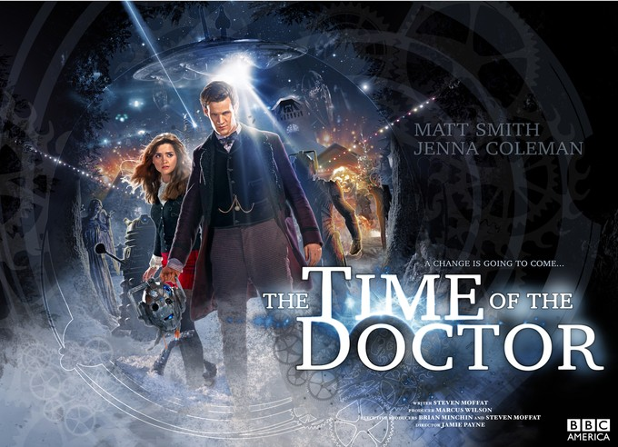 DOCTOR WHO: Time of the Doctor promo poster