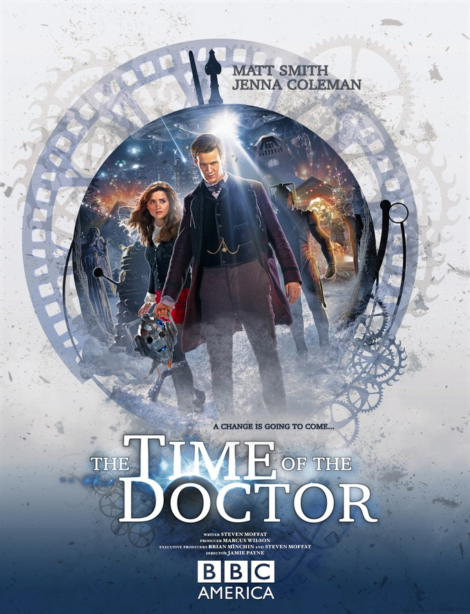DOCTOR WHO: The Time of the Doctor promo poster
