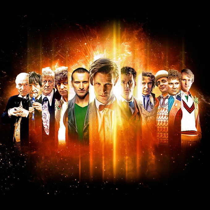 DOCTOR WHO 50th Anniversary artwork (official)