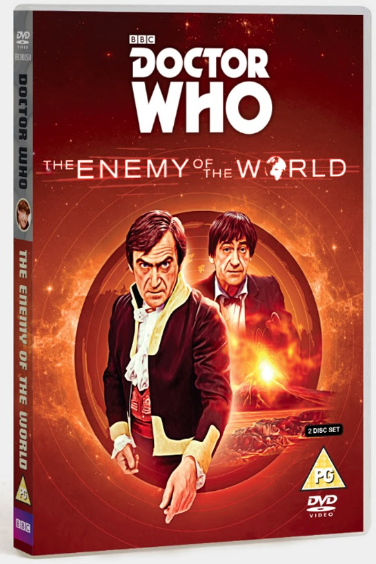 DOCTOR WHO: The Enemy of the World DVD cover