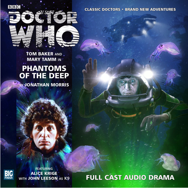 DOCTOR WHO: Phantoms of the Deep (Big Finish Audio Cover)