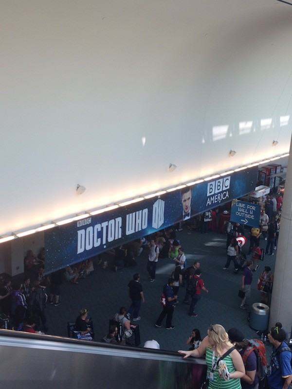 DOCTOR WHO banner - San Diego Comic Con 2913