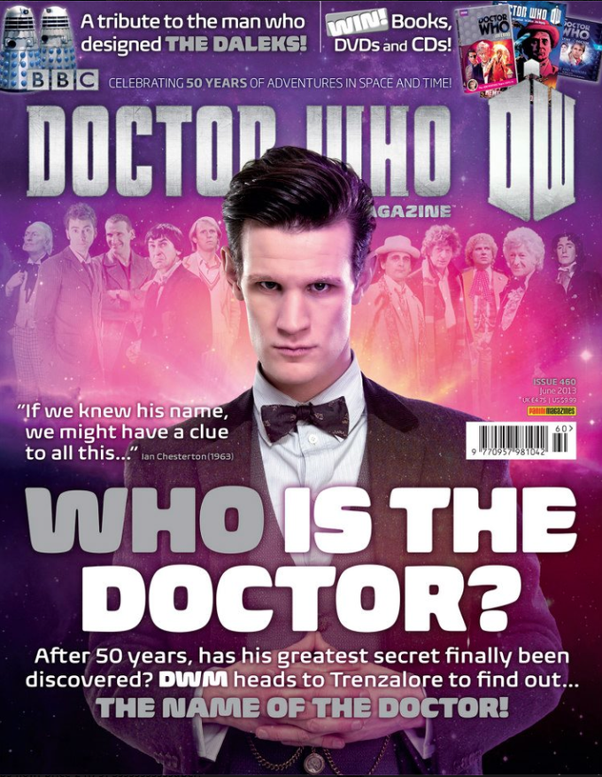 DOCTOR WHO Magazine -Trenzalore cover