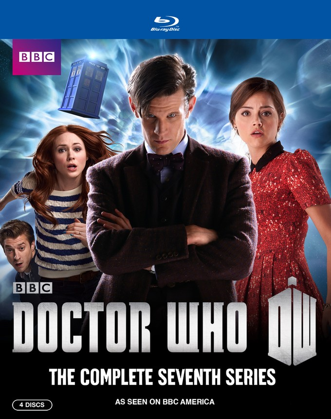 DOCTOR WHO Season/Series 7 Blu-ray set