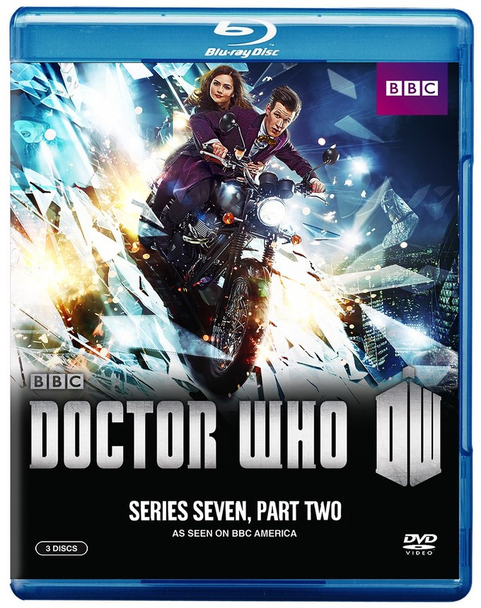 DOCTOR WHO S7B Blu package