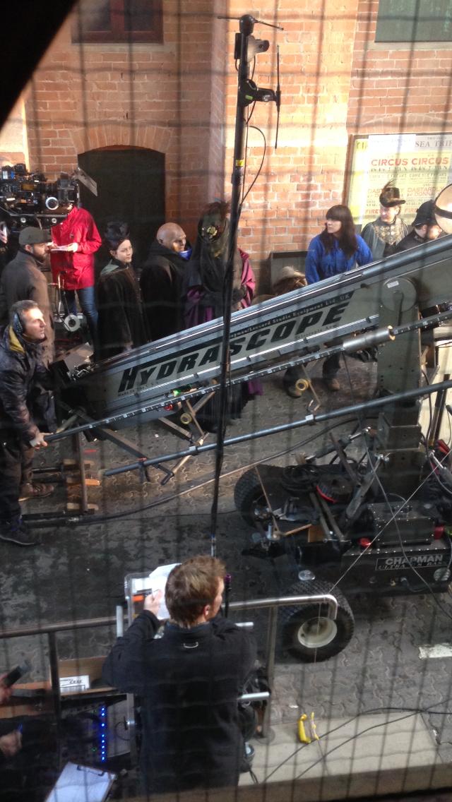 DWS8E01 filming
