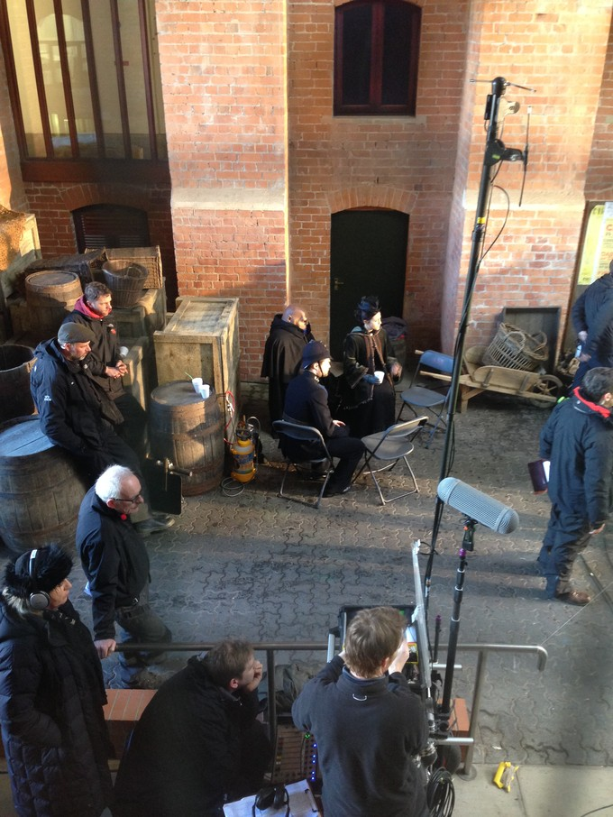 DW S8E1 filming