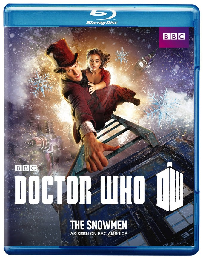 DOCTOR WHO: The Snowmen Blu