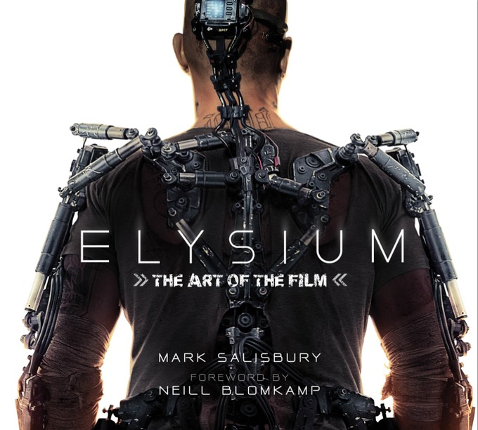 ELYSIUM: THE ART OF THE FILM cover (Titan Books)