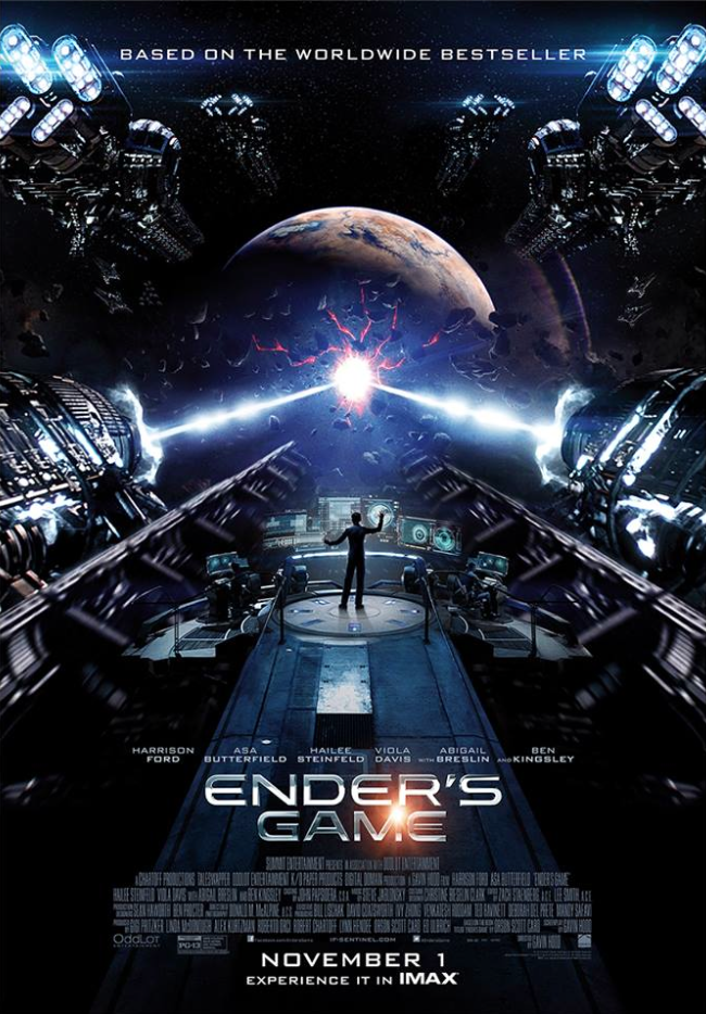 Ender's Game IMAX Poster