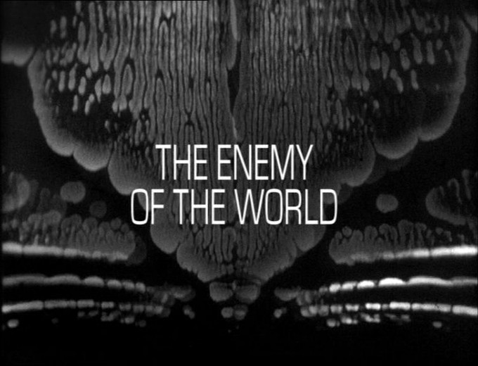 DOCTOR WHO: The Enemy of the World title screen