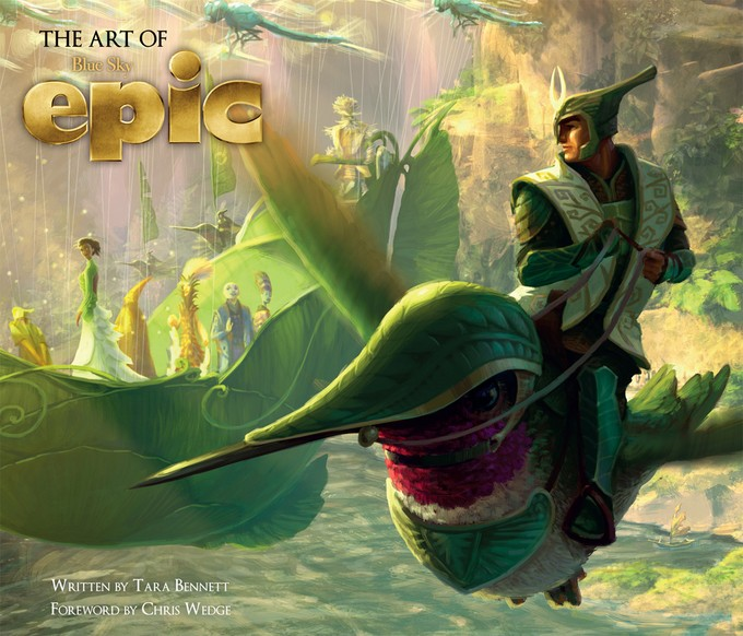 Art of EPIC book cover