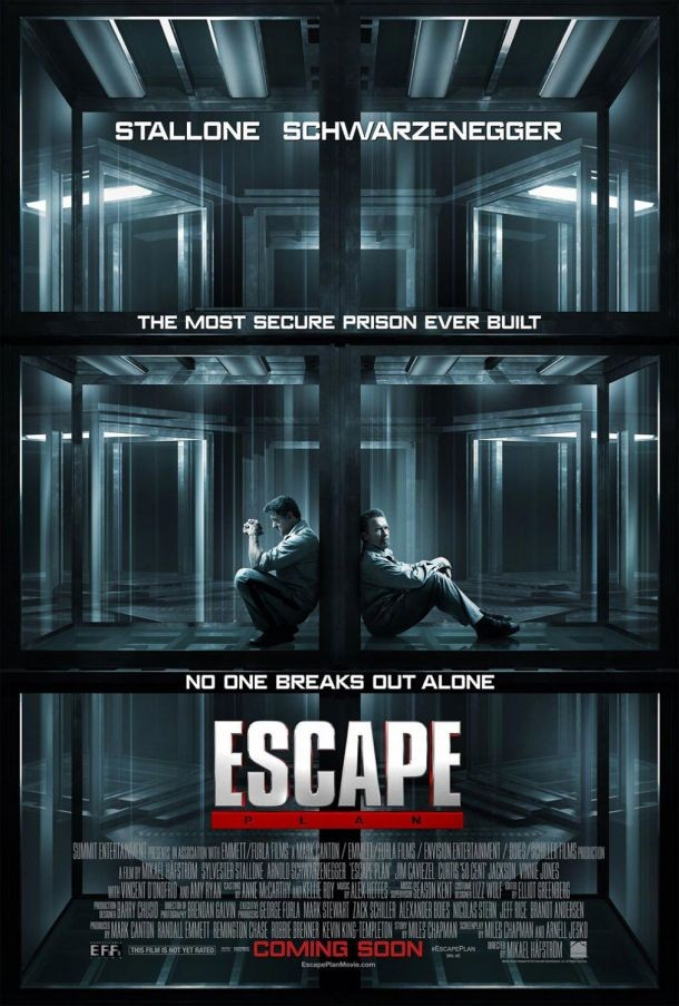 ESCAPE PLAN onesheet