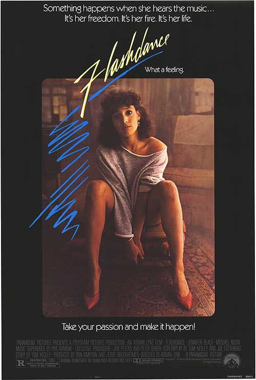 Flashdance one sheet