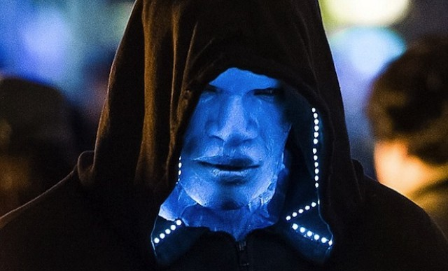 Jamie Foxx as Electro in THE AMAZING SPIDER-MAN sequel