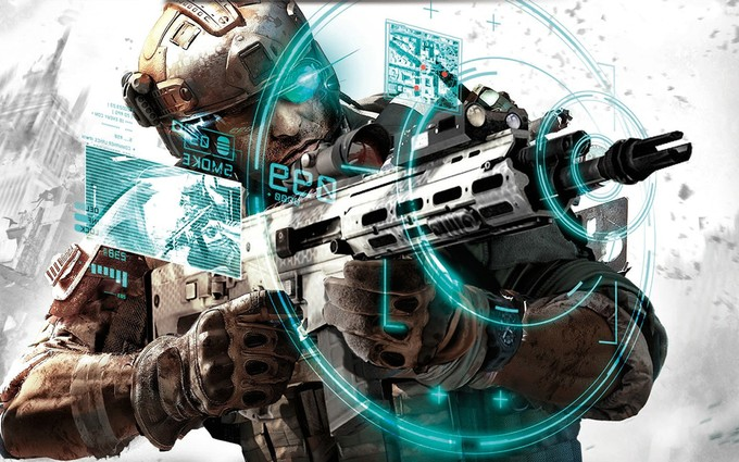 GHOST RECON game art