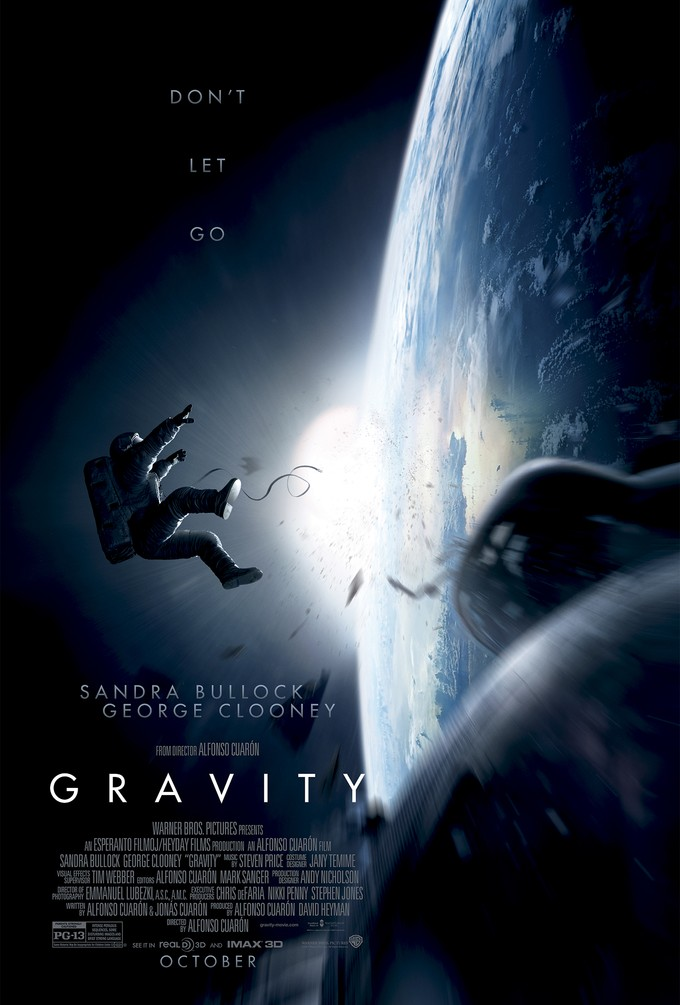 GRAVITY teaser sheet