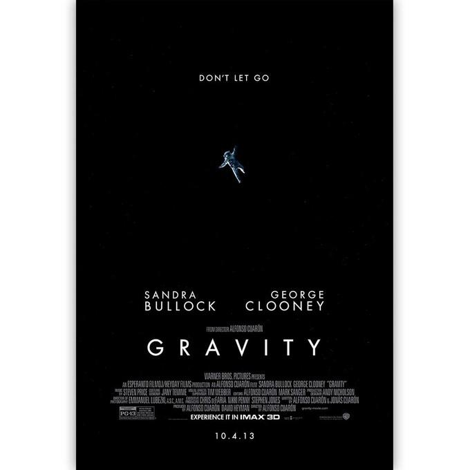 GRAVITY IMAX poster