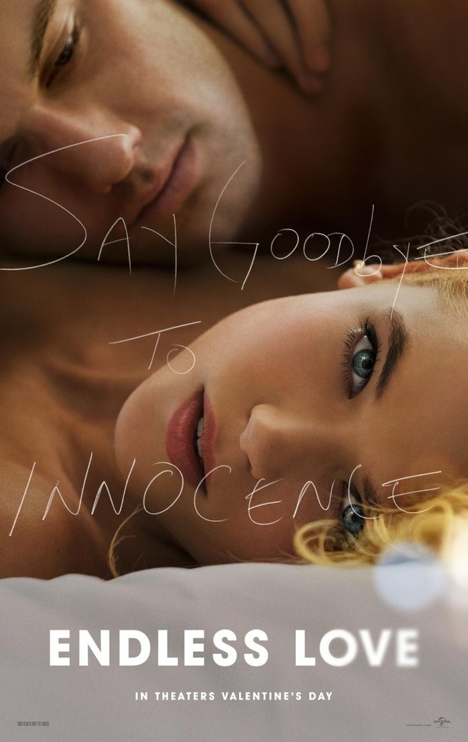 ENDLESS LOVE remake poster