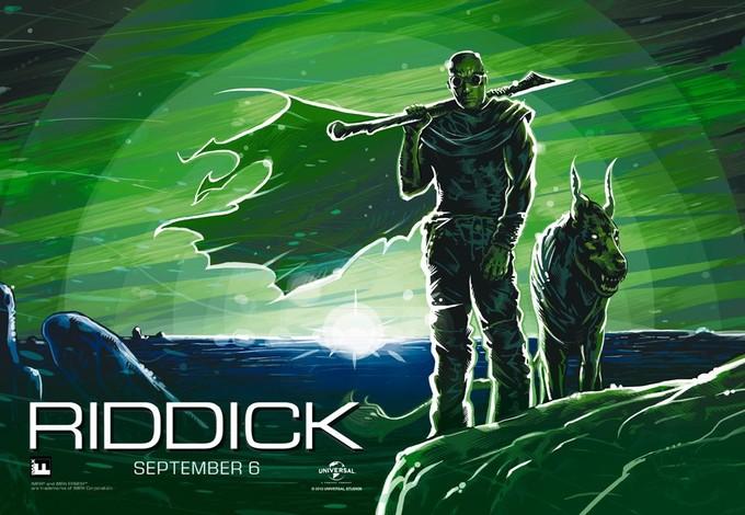 IMAX RIDDICK poster