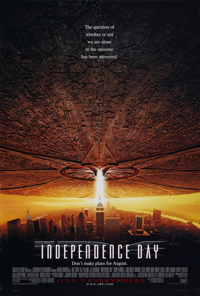 INDEPENDENCE DAY one sheet