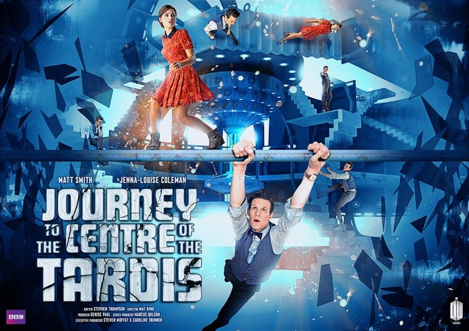 DOCTOR WHO S7 - Journey to the Centre of the TARDIS poster